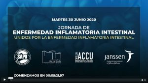 Video: Jornada de Enfermedad Inflamatoria Intestinal 23-06-2020